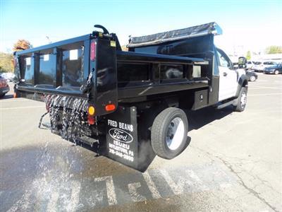 2020 Ford F-550 Regular Cab DRW 4x4, Rugby Eliminator LP Steel Dump Body #FU0573 - photo 6