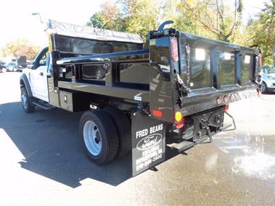 2020 Ford F-550 Regular Cab DRW 4x4, Rugby Eliminator LP Steel Dump Body #FU0573 - photo 2