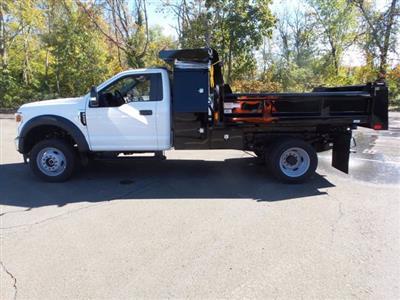 2020 Ford F-550 Regular Cab DRW 4x4, Rugby Eliminator LP Steel Dump Body #FU0573 - photo 8