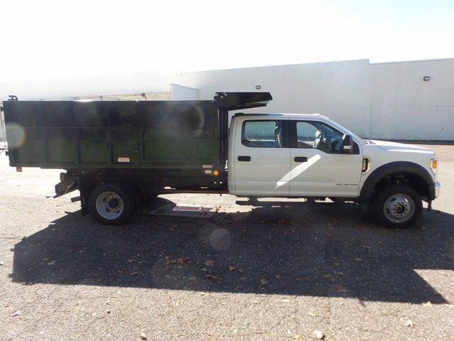 2020 Ford F-550 Crew Cab DRW 4x4, Reading Landscaper SL Landscape Dump #FU0599 - photo 5