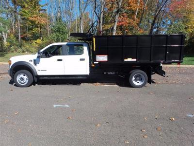 2020 Ford F-550 Crew Cab DRW 4x4, Reading Landscaper SL Landscape Dump #FU0599 - photo 8