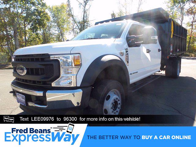 2020 Ford F-550 Crew Cab DRW 4x4, Reading Landscape Dump #FU0600 - photo 1