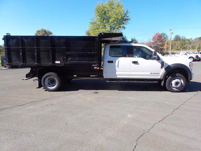 2020 Ford F-550 Crew Cab DRW 4x4, Reading Landscaper SL Landscape Dump #FU0600 - photo 5