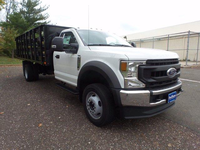 2020 Ford F-550 Regular Cab DRW RWD, PJ's Stake Bed #FU0601 - photo 5