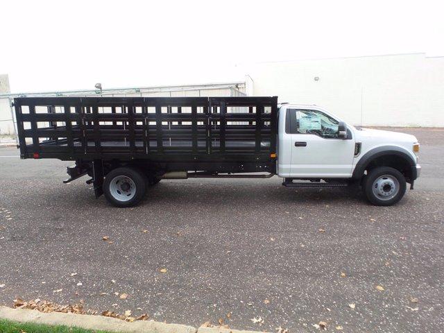 2020 Ford F-550 Regular Cab DRW RWD, PJ's Stake Bed #FU0601 - photo 6