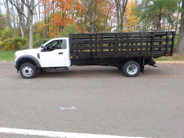 2020 Ford F-550 Regular Cab DRW RWD, PJ's Stake Bed #FU0601 - photo 8