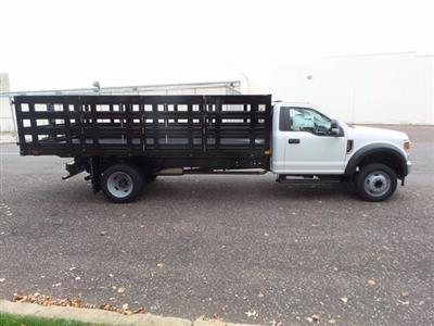 2020 Ford F-550 Regular Cab DRW 4x2, PJ's Stake Bed #FU0601 - photo 6