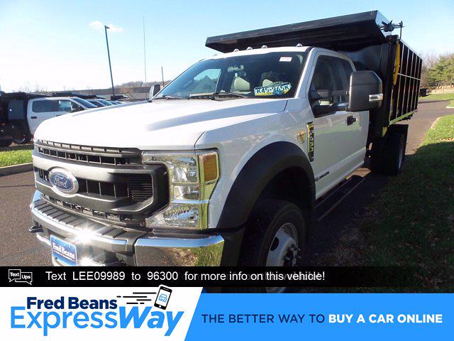 2020 Ford F-450 Super Cab DRW 4x4, Reading Landscaper SL Landscape Dump #FU0611 - photo 1