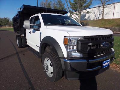 2020 Ford F-450 Super Cab DRW 4x4, Reading Landscaper SL Landscape Dump #FU0611 - photo 4