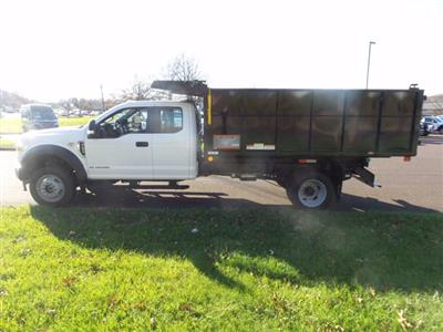 2020 Ford F-450 Super Cab DRW 4x4, Reading Landscaper SL Landscape Dump #FU0611 - photo 8