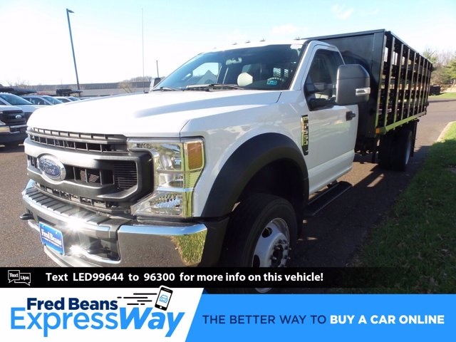 2020 Ford F-550 Regular Cab DRW 4x2, PJ's Stake Bed #FU0635 - photo 1
