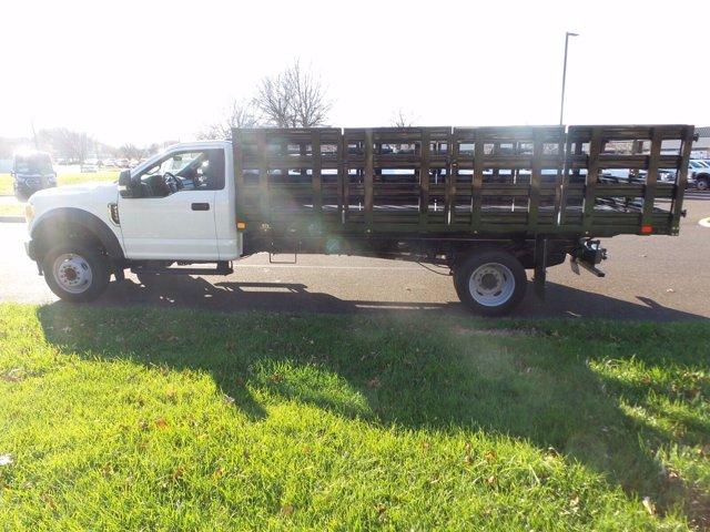 2020 Ford F-550 Regular Cab DRW 4x2, PJ's Stake Bed #FU0635 - photo 8