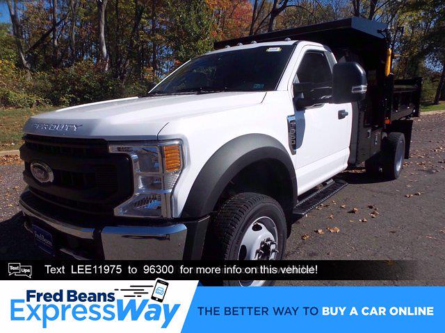 2020 Ford F-550 Regular Cab DRW 4x4, Rugby Eliminator LP Steel Dump Body #FU0636 - photo 1