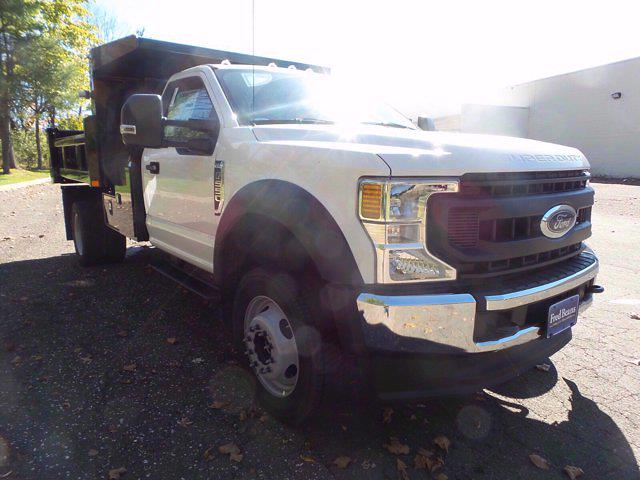 2020 Ford F-550 Regular Cab DRW 4x4, Rugby Eliminator LP Steel Dump Body #FU0636 - photo 4