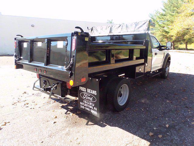 2020 Ford F-550 Regular Cab DRW 4x4, Rugby Eliminator LP Steel Dump Body #FU0801 - photo 6