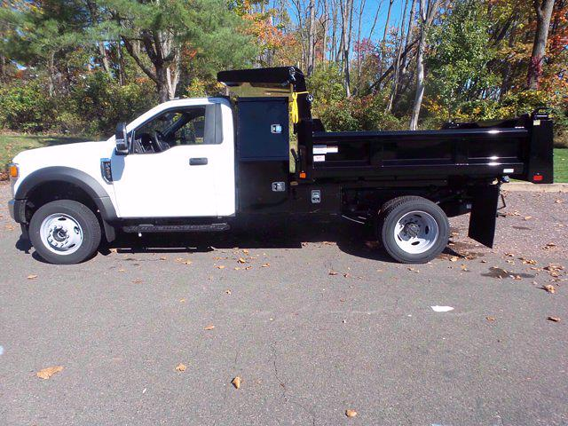 2020 Ford F-550 Regular Cab DRW 4x4, Rugby Eliminator LP Steel Dump Body #FU0636 - photo 8