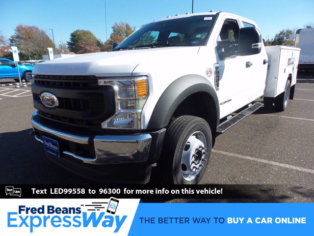 2020 Ford F-450 Crew Cab DRW 4x4, Cab Chassis #FU0639 - photo 1