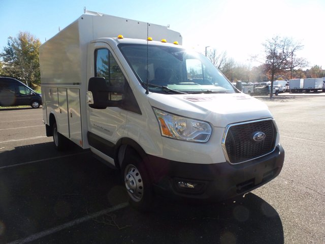 2020 Ford Transit 350 HD DRW 4x2, Reading Aluminum CSV Service Utility Van #FU0645 - photo 4