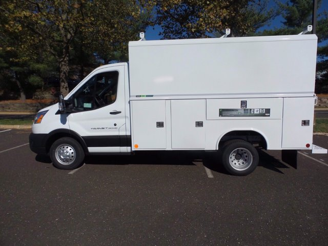 2020 Ford Transit 350 HD DRW 4x2, Reading Aluminum CSV Service Utility Van #FU0645 - photo 8
