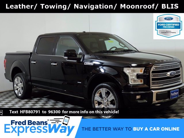 2017 Ford F-150 SuperCrew Cab 4x4, Pickup #FU06541 - photo 1