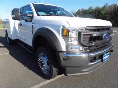 2020 Ford F-450 Super Cab DRW 4x4, Reading Classic II Steel Service Body #FU0683 - photo 4