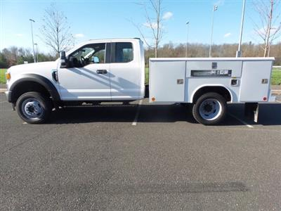 2020 Ford F-450 Super Cab DRW 4x4, Reading Classic II Steel Service Body #FU0683 - photo 8