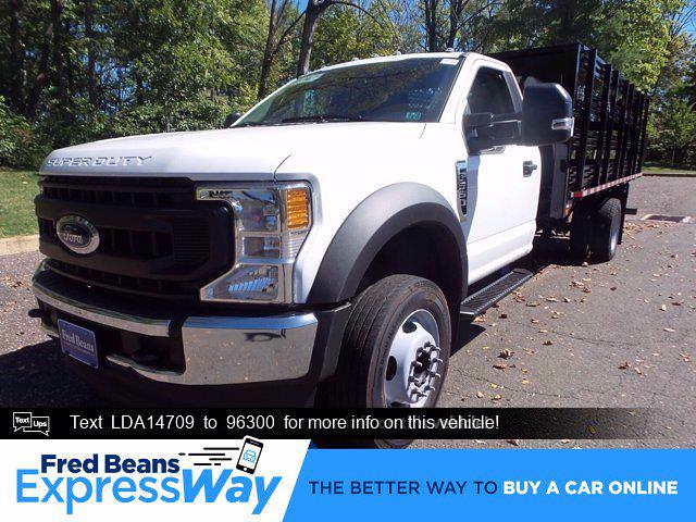 2020 Ford F-550 Regular Cab DRW 4x2, Stake Bed #FU0701 - photo 1