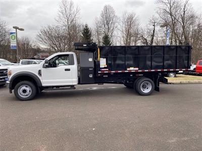 2020 Ford F-600 Regular Cab DRW 4x2, Landscape Dump #FU0703 - photo 8