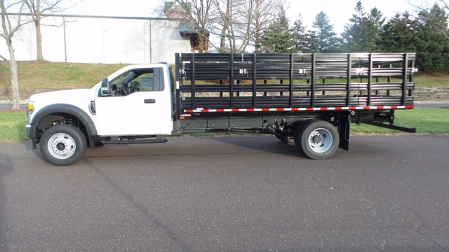 2020 Ford F-600 Regular Cab DRW 4x2, Stake Bed #FU0720 - photo 8