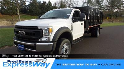2020 Ford F-600 Regular Cab DRW 4x2, Stake Bed #FU0720 - photo 1