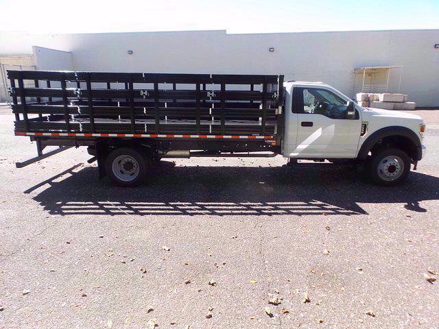 2020 Ford F-550 Regular Cab DRW 4x2, Stake Bed #FU0748 - photo 5