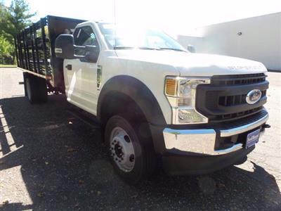 2020 Ford F-550 Regular Cab DRW 4x2, Stake Bed #FU0748 - photo 4