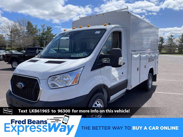 2020 Ford Transit 350 HD DRW AWD, Service Utility Van #FU0757 - photo 1
