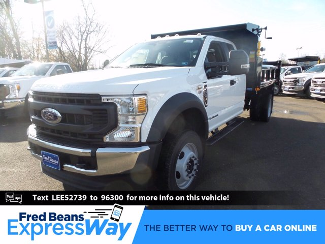 2020 Ford F-550 Super Cab DRW 4x4, Rugby Dump Body #FU0760 - photo 1