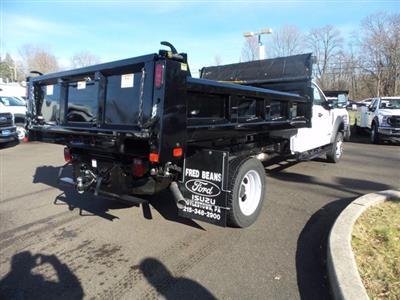 2020 Ford F-550 Super Cab DRW 4x4, Rugby Eliminator LP Steel Dump Body #FU0760 - photo 6