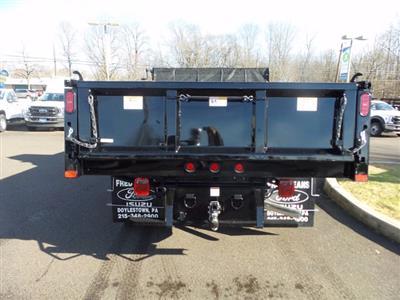 2020 Ford F-550 Super Cab DRW 4x4, Rugby Eliminator LP Steel Dump Body #FU0760 - photo 7