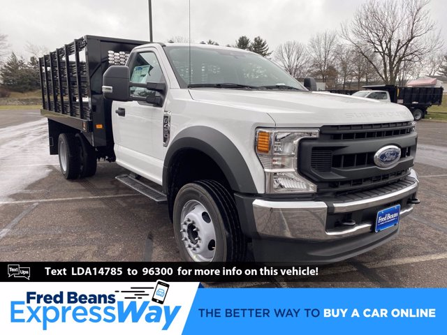 2020 Ford F-450 Regular Cab DRW 4x2, Knapheide Value-Master X Stake Bed #FU0763 - photo 1