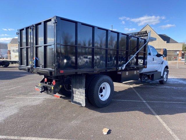 2021 Ford F-650 Crew Cab DRW 4x2, Landscape Dump #FU1077 - photo 6