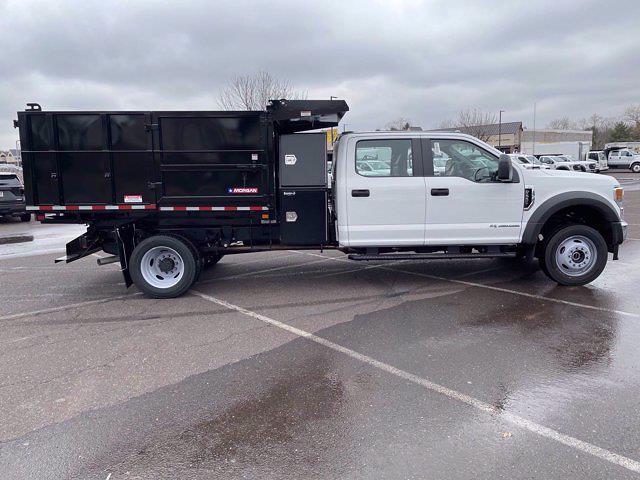 2021 Ford F-550 Crew Cab DRW 4x4, Morgan Landscape Dump #FU1153 - photo 5