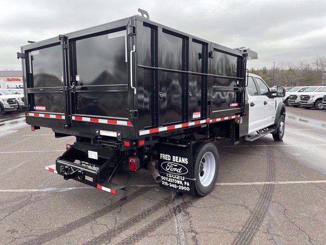 2021 Ford F-550 Crew Cab DRW 4x4, Morgan Landscape Dump #FU1153 - photo 6