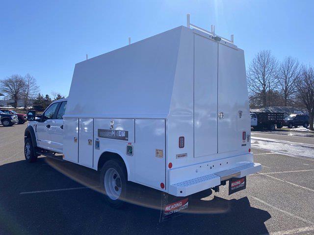 2021 Ford F-550 Crew Cab DRW 4x4, Reading Service Body #FU1161 - photo 1