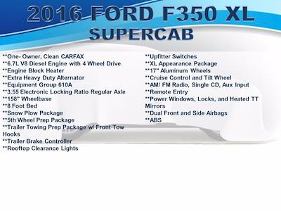 2016 Ford F-350 Super Cab 4x4, Pickup #FU12131 - photo 4
