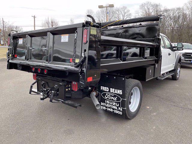 2021 Ford F-550 Super Cab DRW 4x4, Rugby Eliminator LP Steel Dump Body #FU1221 - photo 6