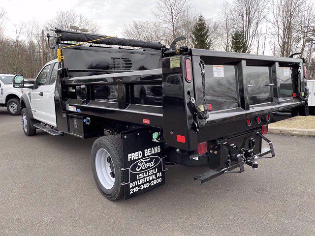 2021 Ford F-550 Super Cab DRW 4x4, Rugby Dump Body #FU1221 - photo 1