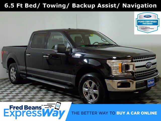 2018 Ford F-150 SuperCrew Cab 4x4, Pickup #FU12631 - photo 1