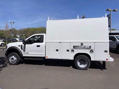 2021 Ford F-550 Regular Cab DRW 4x4, Reading Panel Service Body #FU1286 - photo 8