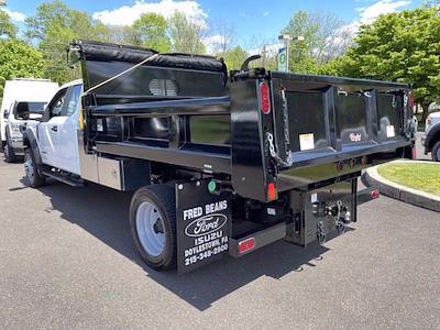 2021 Ford F-550 Super Cab DRW 4x4, Rugby Eliminator LP Steel Dump Body #FU1287 - photo 2