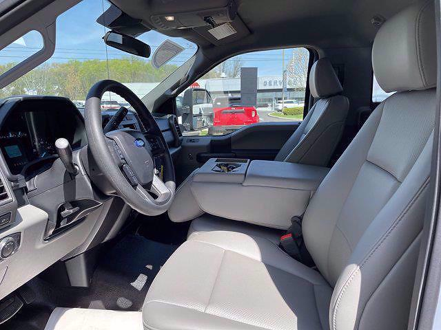 2021 Ford F-550 Regular Cab DRW 4x4, Reading Panel Service Body #FU1293 - photo 10