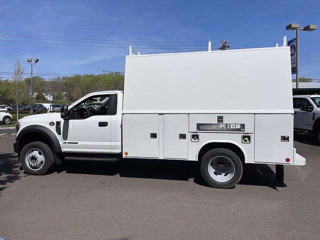 2021 Ford F-550 Regular Cab DRW 4x4, Reading Panel Service Body #FU1293 - photo 8