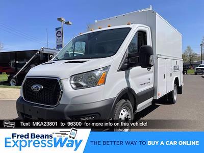 2021 Ford Transit 350 HD 4x2, Reading Aluminum CSV Service Utility Van #FU1310 - photo 1